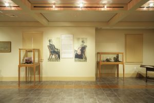 Carter Center Display Lobby
