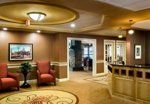 Lobby, assisted living